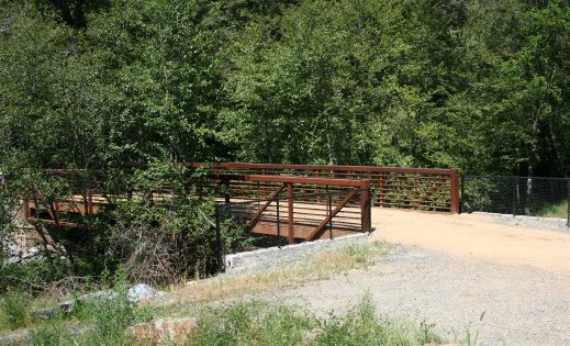 Bridge at Hidden Falls Regional Park