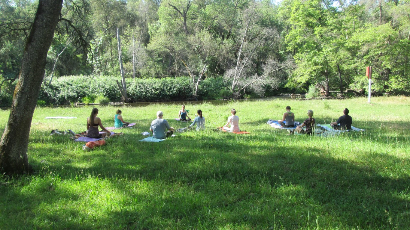 Yoga Under the Oaks at Taylor Ranch Preserve