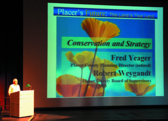 Fred Yeager speaks about regional land planning and land conservation issues.