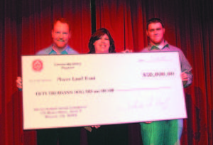 At the event, Julie Huff and Josef Fore presented PLT with a $50,000 check from the United Auburn Indian Community.