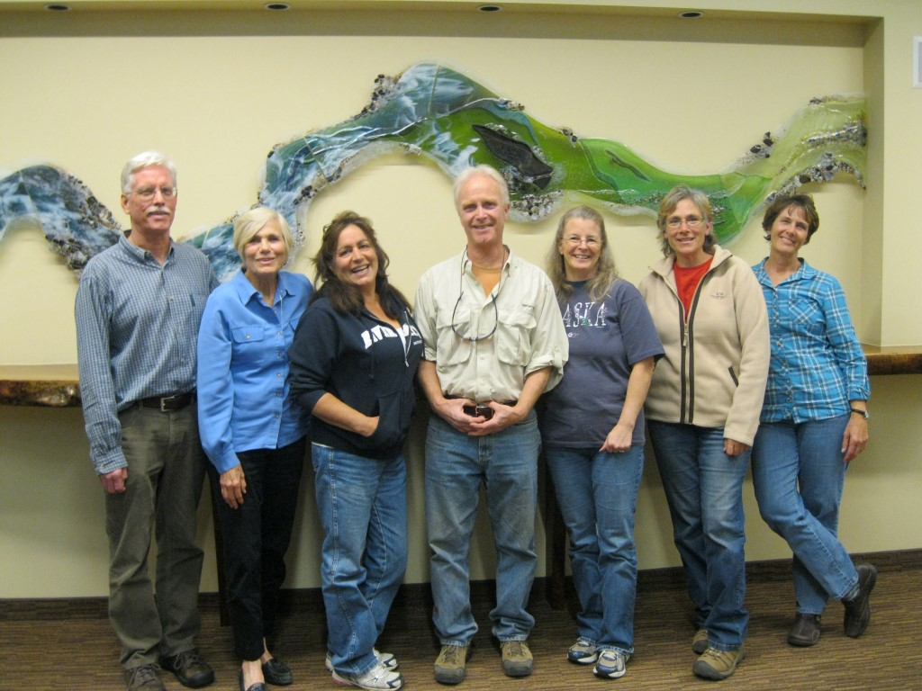 Some of Placer Land Trust's Docents, from left: Bob Niblack, Anita Yoder, Connie Watson, Karl Mertz, Susan Kotelinicki, Shawna Martinez, and Jeri JurgensonOutdoor