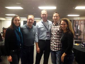 Kara Walker, Jeff Darlington, Kaisers Richard, Justin Wages & PLT Board Member Gina Giambruno